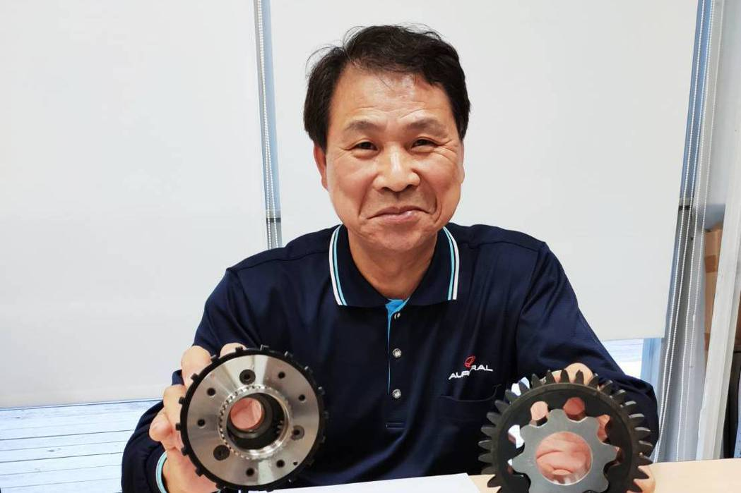 旭宏金屬總經理連介民表示,期許成為「粉末冶金的台積電」。記者張義宮/攝影
