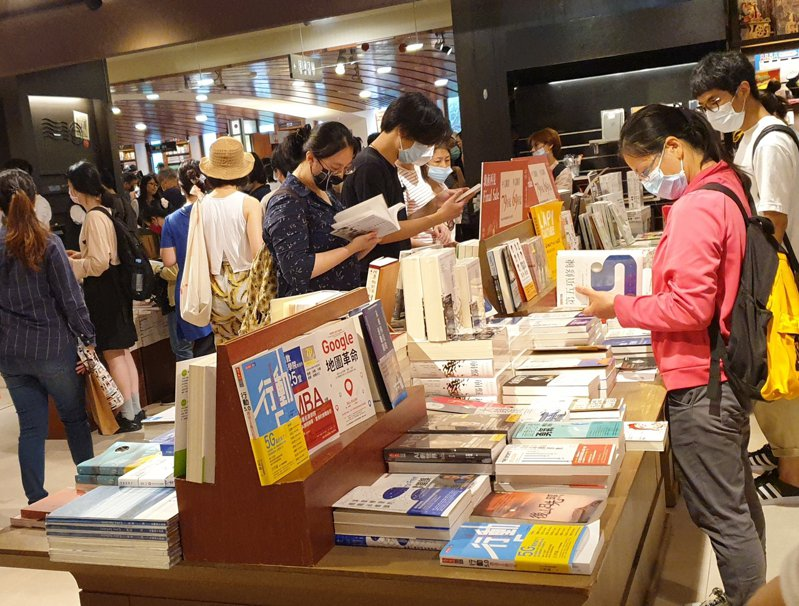 三月起,圖書出版品銷售可免營業稅。記者陳宛茜/攝影