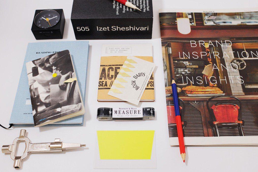 進入創意生活型態,好用的文具不可或缺。圖/李擴提供