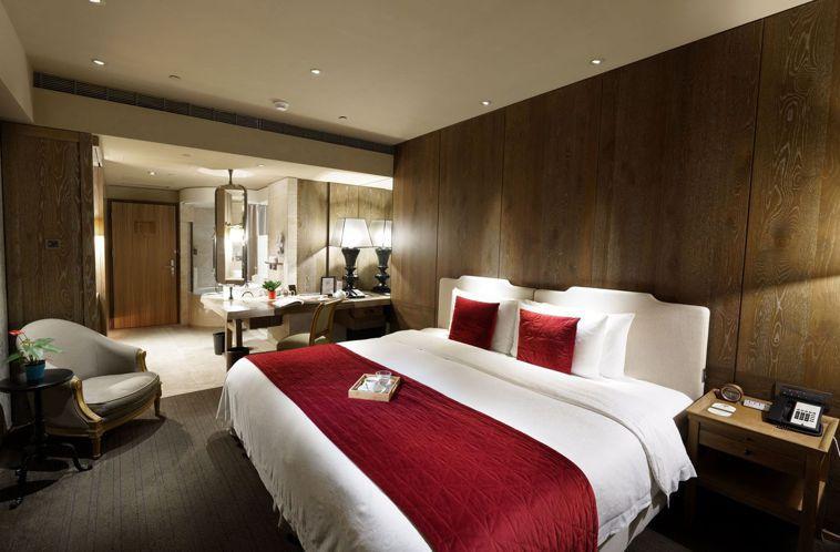 君品酒店雅緻客房,防疫備援方案每房每晚2,500元。圖/雲朗觀光集團提供
