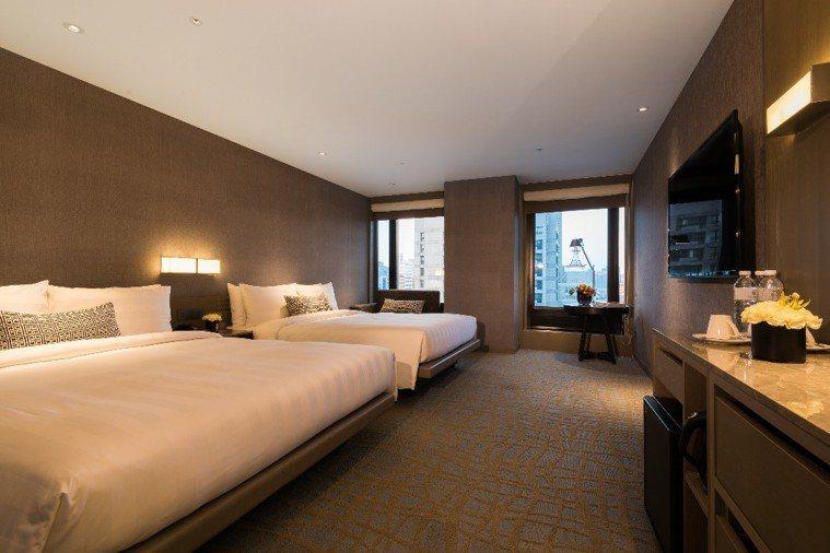 德立莊酒店台北館也加入家人安心住房專案。圖/德立莊酒店提供