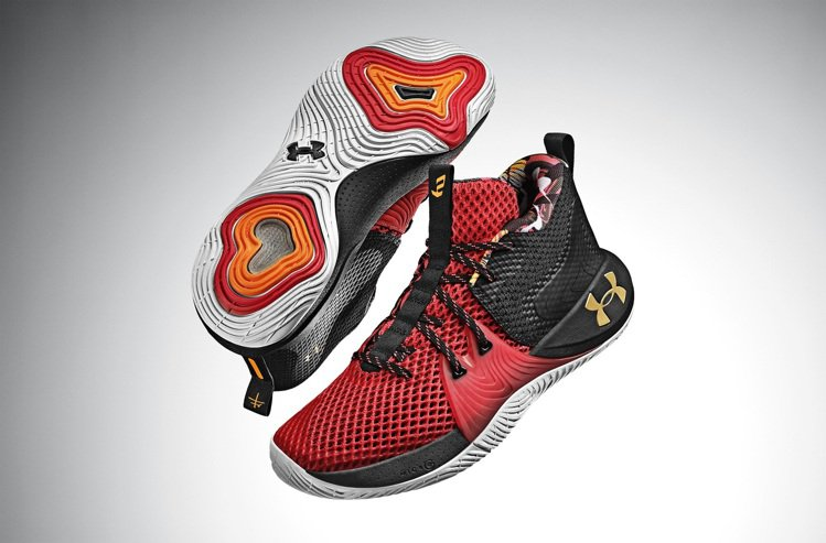 UNDER ARMOUR UA EMBIID ONE鞋4,480元。圖/UNDE...