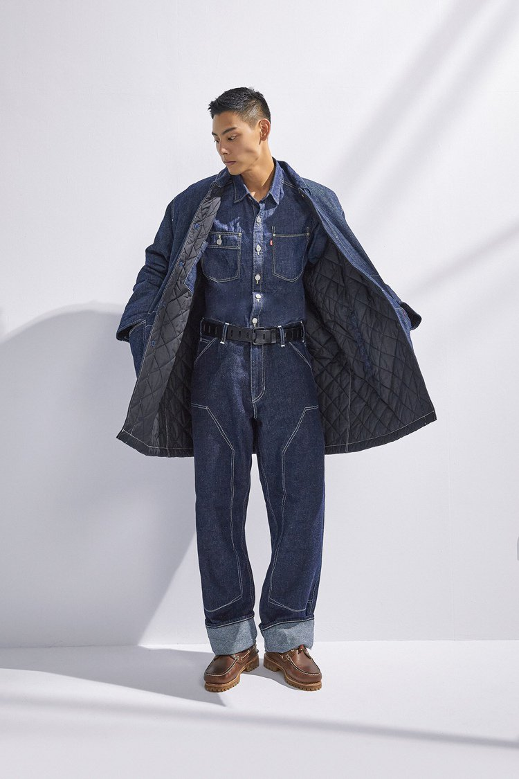 LEVI'S RED Workwear Loose Straight寬鬆直筒牛仔...