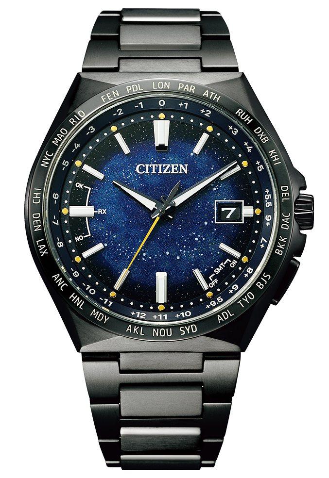 CITIZEN CB0219-50L腕表,鈦金屬表殼、表鍊,全球限量2,200只...