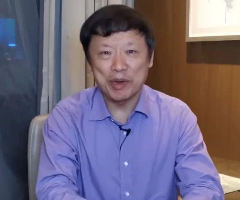 環球時報總編輯胡錫進。圖/取自胡錫進個人微博