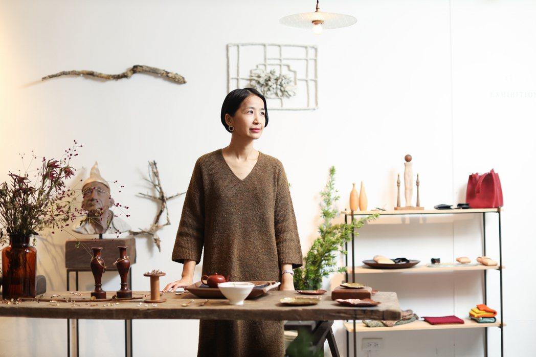 Ruby投入茶廳工作前,從事室內設計工作。 圖/吳致碩攝影