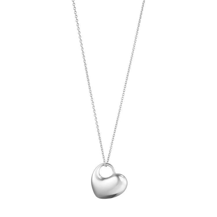 Hearts of Georg Jensen純銀鍊墜,6,600元。圖/喬治傑生...
