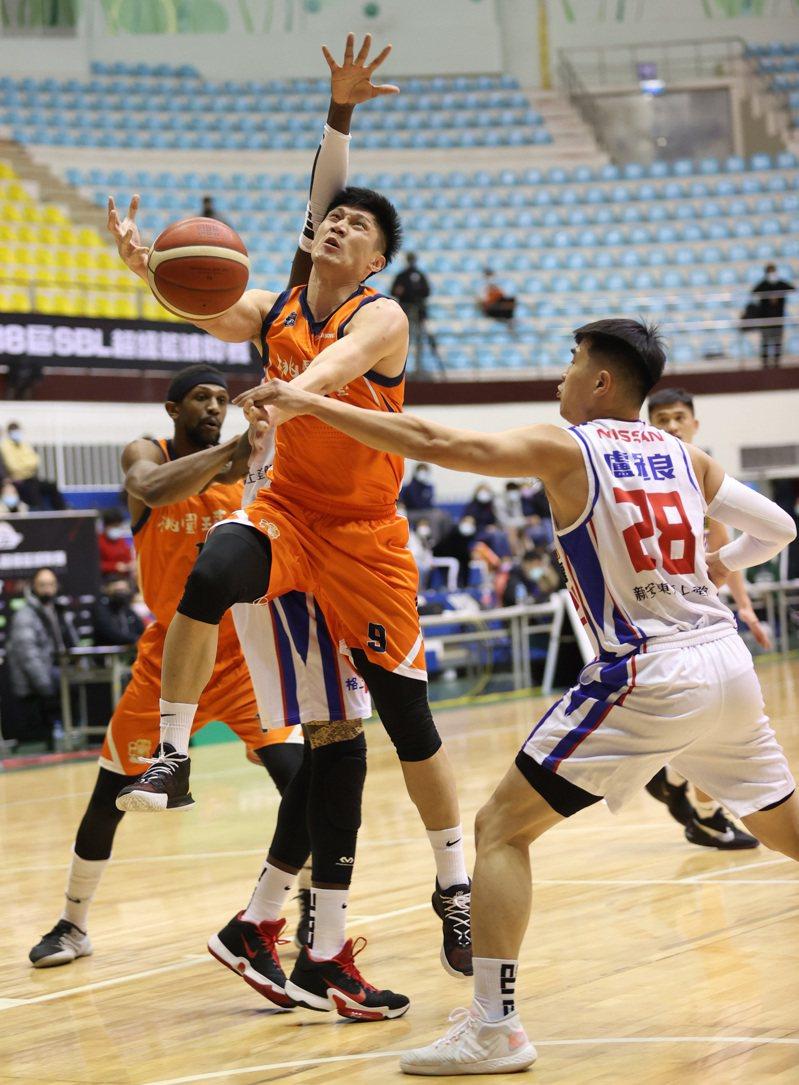 璞園隊林金榜攻下球隊本土最高的11分。圖/中華籃球協會提供
