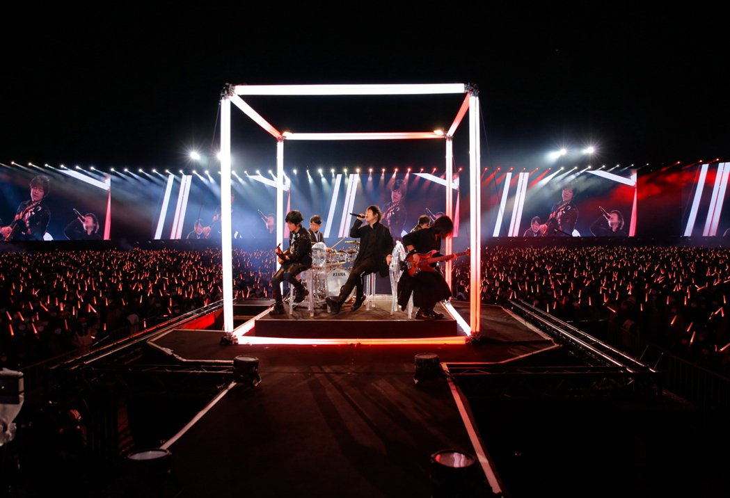 五月天全新巡演「好好好想見到你」桃園場今晚來到最終場。圖/相信音樂提供