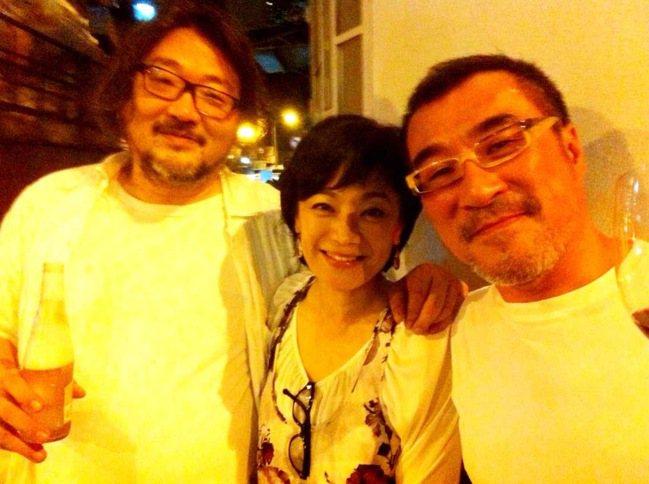 張培仁(左起)與張艾嘉、李宗盛都是滾石盛世的見證人。圖/張培仁提供 袁世珮