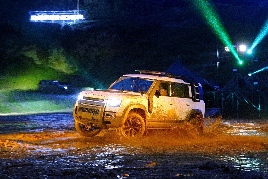 新世代Land Rover Defender正式在台發表上市。 記者張振群/攝影