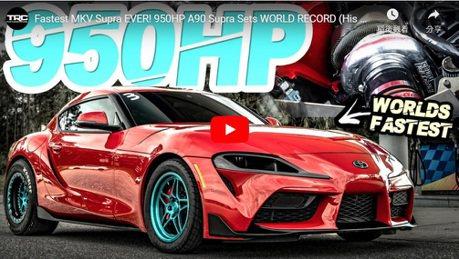 影/世界最速A90 Toyota Supra誕生?零四加速不用9秒!