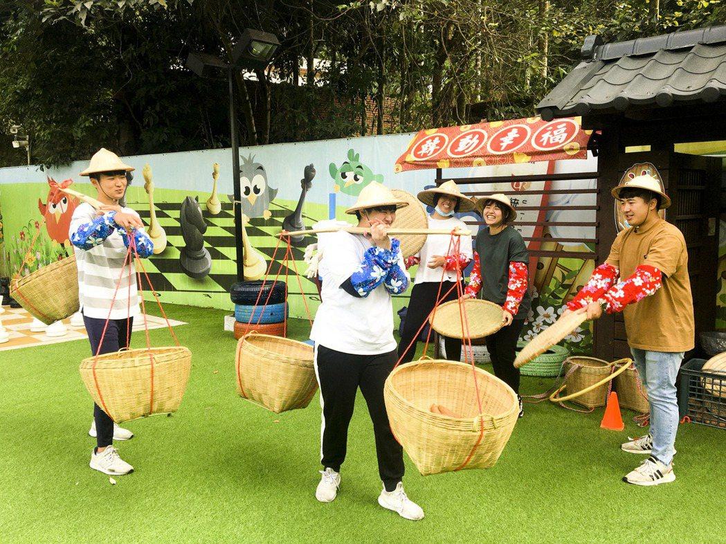 統一馬武督-農村樂競賽。統一渡假村/提供