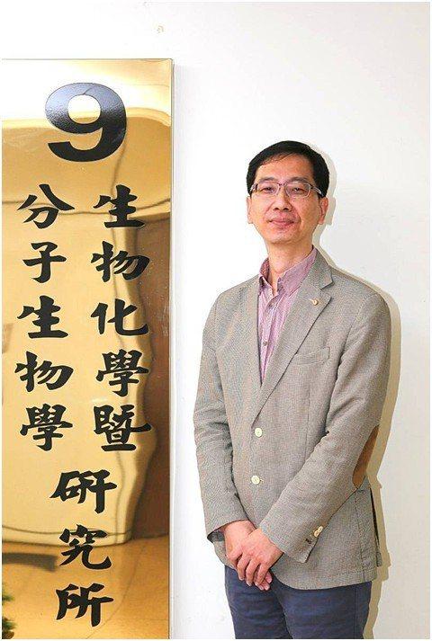 成大生物化學暨分子生物學研究所陳昌熙教授。 邱芎蓉/攝影