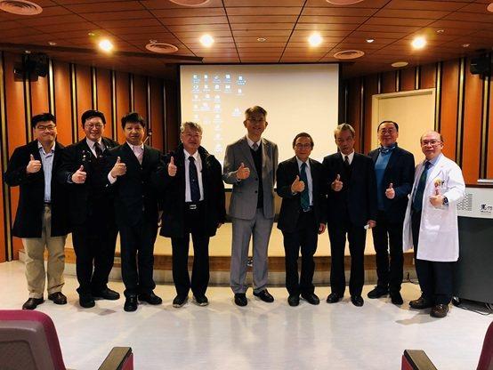2021年春季專科醫師暨研究學術研討會與會人員合影。 台灣長照醫學會/提供