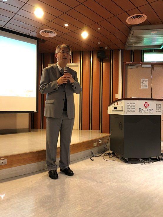 中國醫藥大學中醫學院院長孫茂峰教授。 台灣長照醫學會/提供