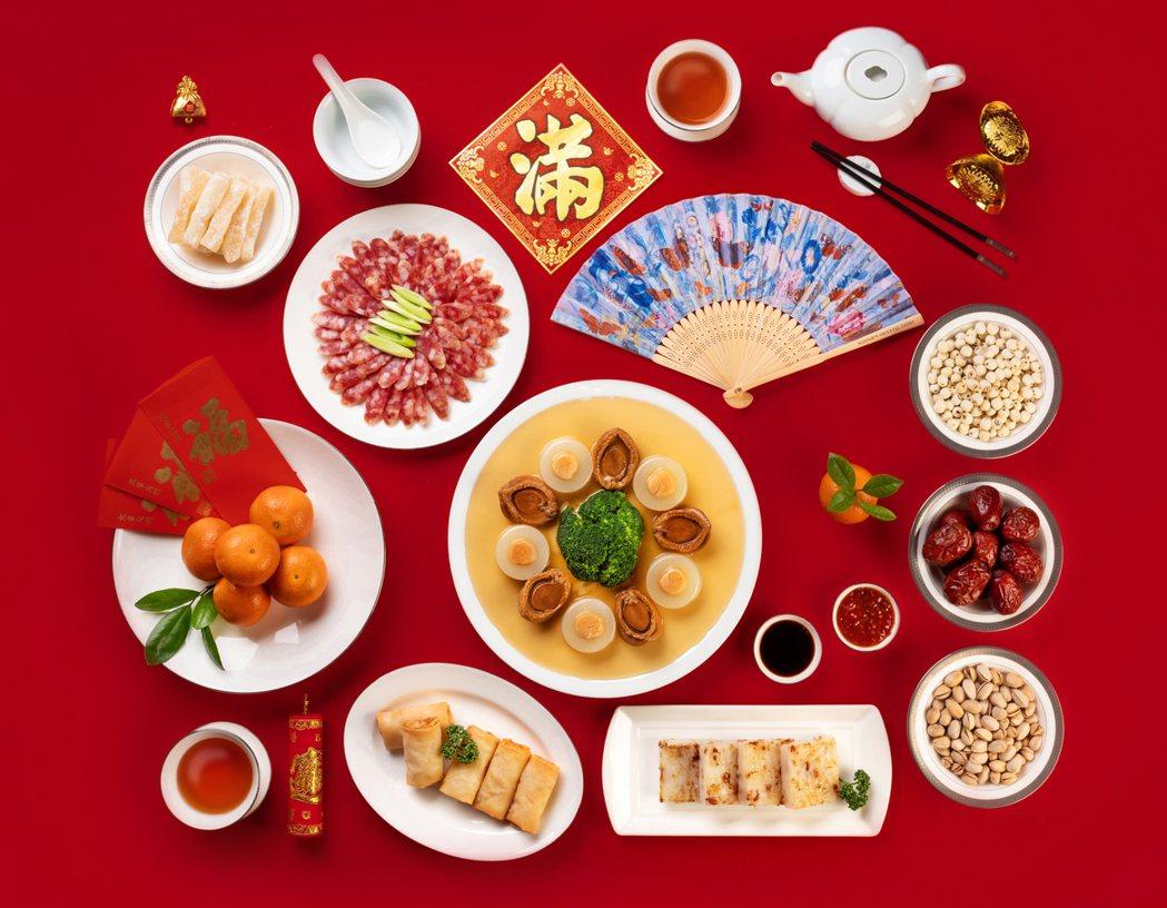 台北文華東方酒店繽紛迎新春。 台北文華東方酒店/提供