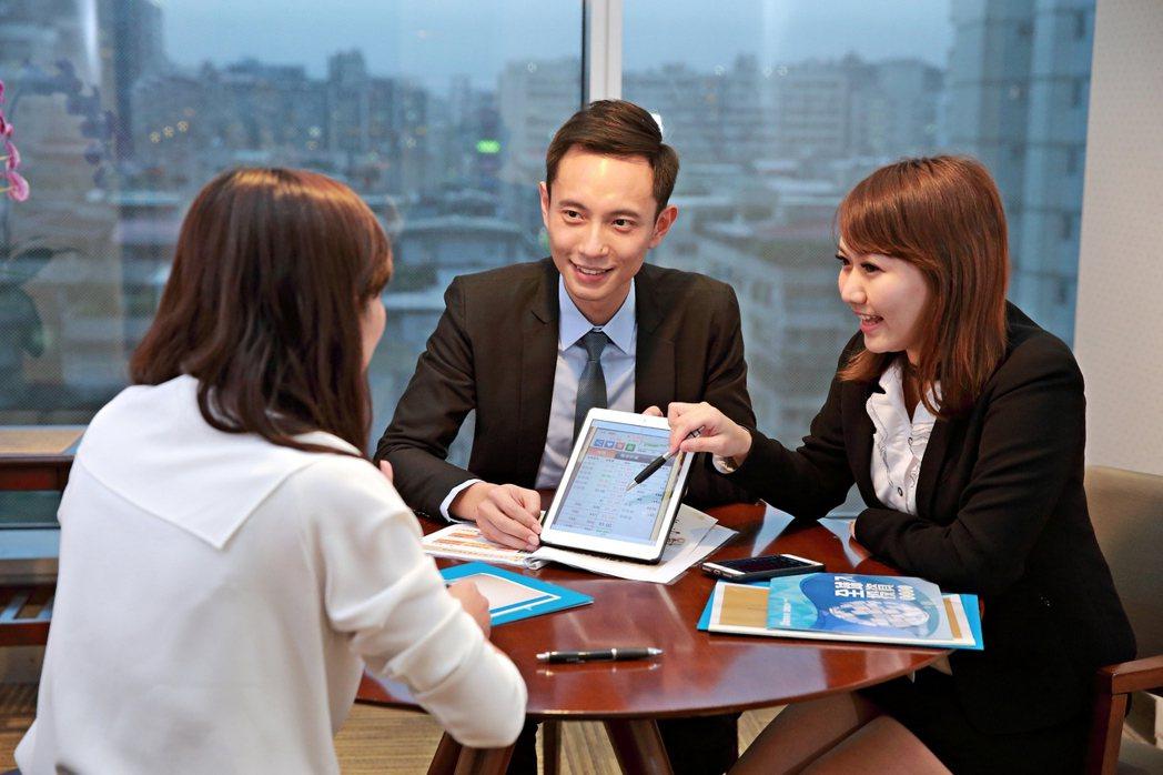 富邦證券藉由各種金融商品的搭配組合,滿足各族群財富管理的需求。富邦證券/提供