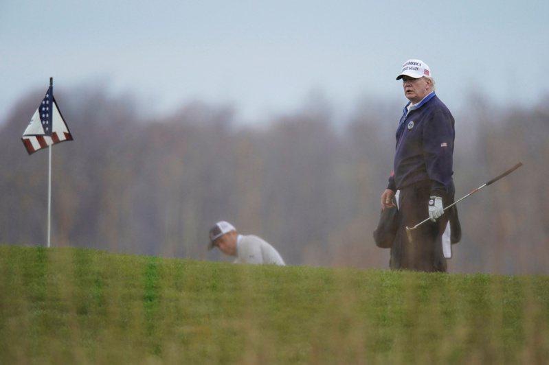 明年PGA錦標賽不在川普球場辦。 路透