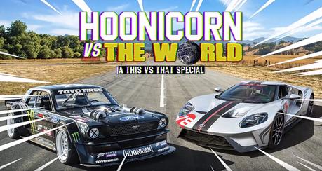 影/Ford GT超跑也來挑戰Hoonicorn野馬戰車!