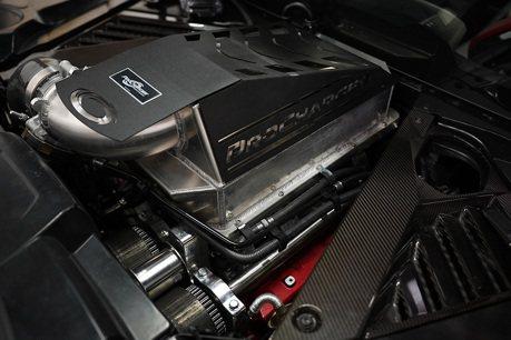 影/改個機械增壓就有700匹?Corvette C8真是猛!