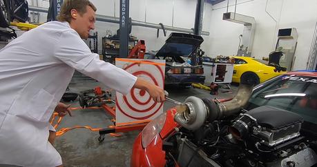 影/豐胸矽膠丟進Turbo渦輪增壓器會發生什麼事?