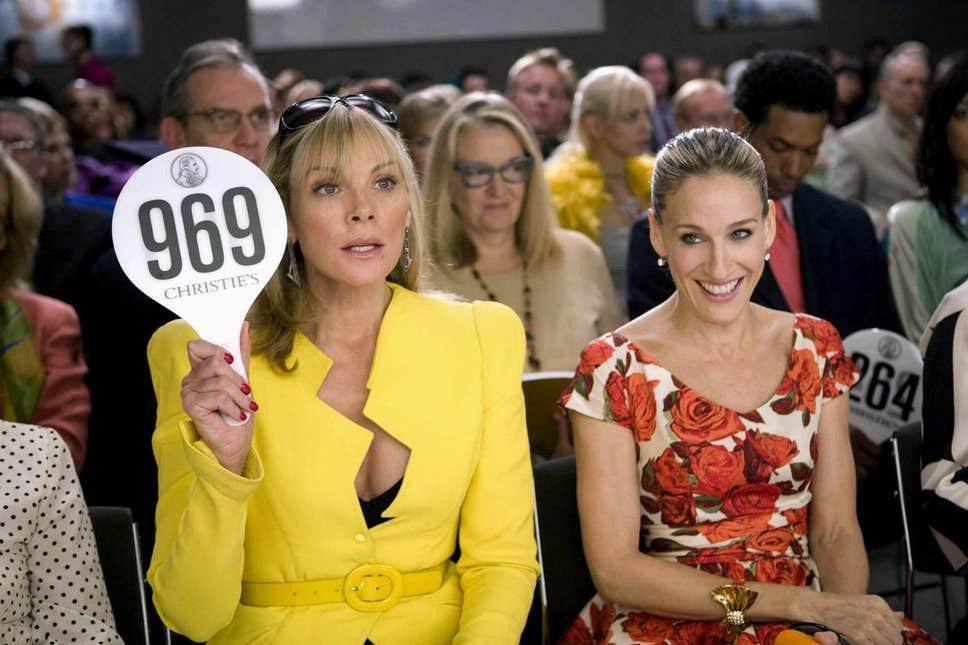 金凱特蘿(左)與莎拉潔西卡派克已無法共事,最新「慾望城市」中也不會再見到兩人同台...