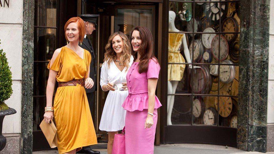 辛西亞尼克森(左起)、莎拉潔西卡派克、克莉絲汀戴維斯將自製自演全新一季「慾望城市