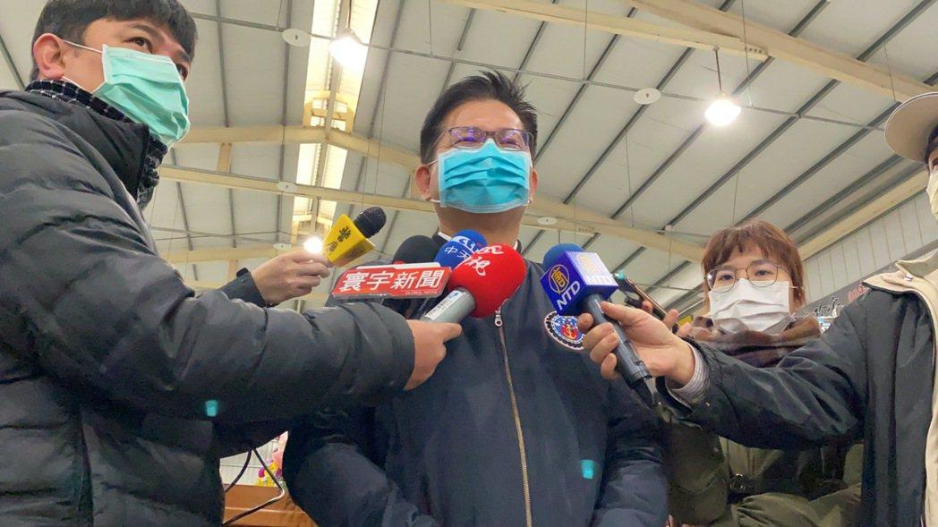 交通部長林佳龍今天在台中受訪時說,目前已經有3600間可納入防疫旅館,另有600...