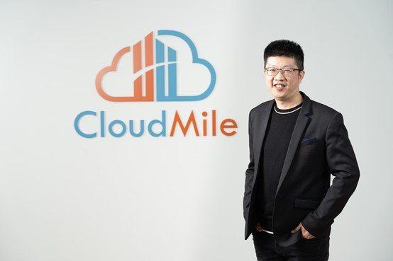 CloudMile萬里雲宣布本次1,000萬美元的B輪募資,將投注於今年啟動的新據點-馬來西亞吉隆坡。圖為萬里雲創辦人暨執行長劉永信。 業者提供