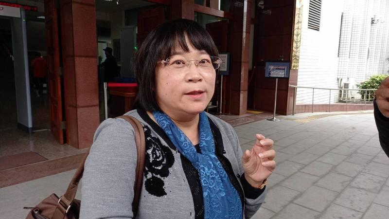 李承翰家屬委任律師許雅芬,建議二審法院判處凶嫌無期徒刑。記者黃宣翰/攝影