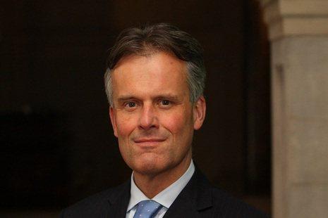 英國在台辦事處新任代表鄧元翰 (John Dennis)。圖/英國在台辦事處提供