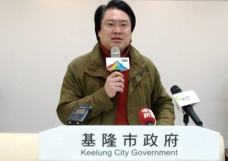 基隆市長林右昌被點名代表民進黨參選台北市長。記者邱瑞杰/攝影