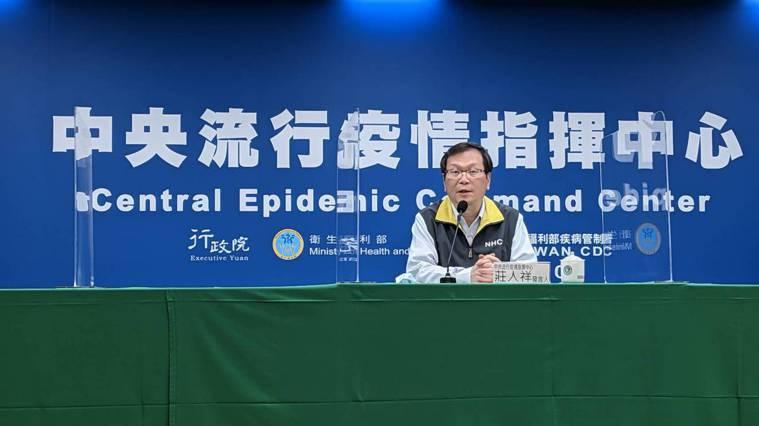 中央流行疫情指揮中心發言人莊人祥今日表示,新增6例新冠肺炎境外移入確定病例。記者...