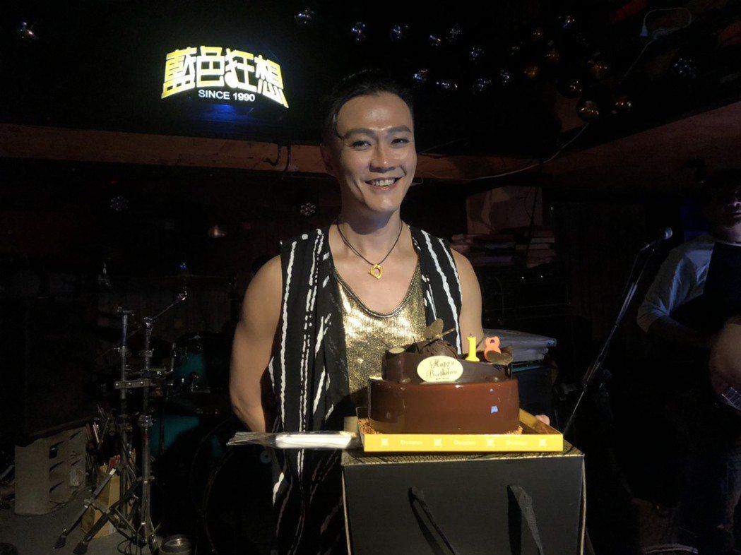 林俊逸透露去年生日時赴日比賽,意外為國爭光奪金。圖/FGC遠雄創藝提供