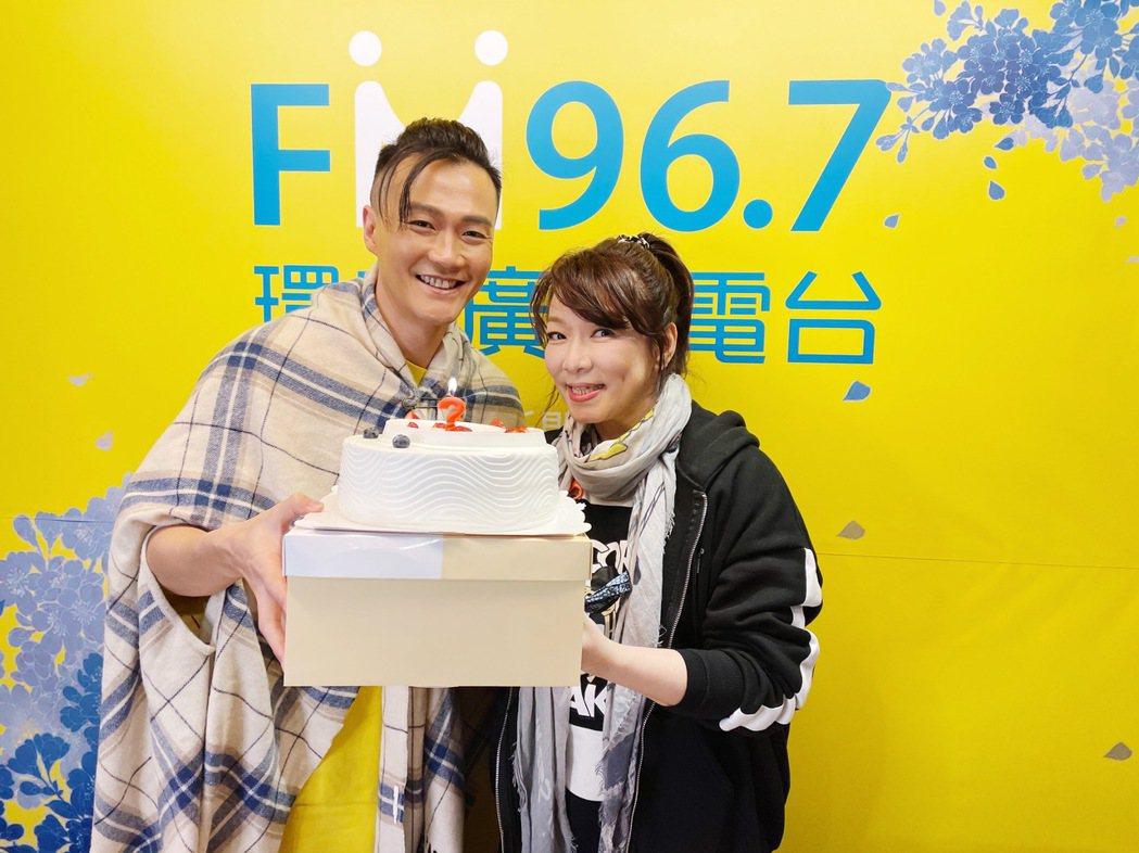 林俊逸(左)、趙詠華將一同舉辦「華逸登場」演唱會。圖/FGC遠雄創藝提供