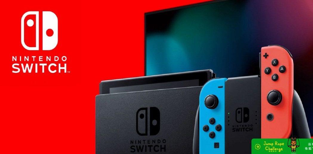 任天堂Switch截至去年底大陸出貨量達100萬台。大陸任天堂Switch截圖