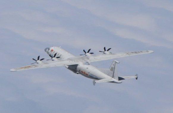 空軍今(11日)天發布共機動態,共軍一架運8技術偵察機(同型機)進入我西南防空識別區(ADIZ)。圖/國防部