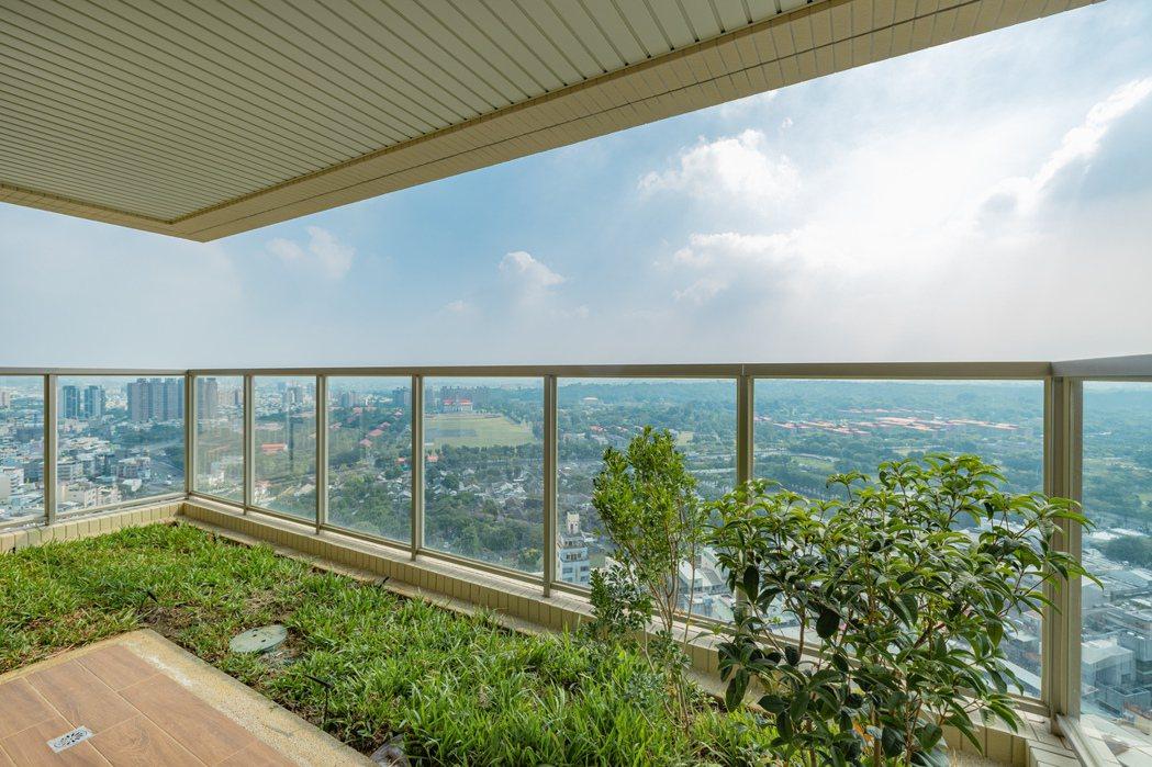 中高樓層就有非常好的view。 圖片提供/富邦建設