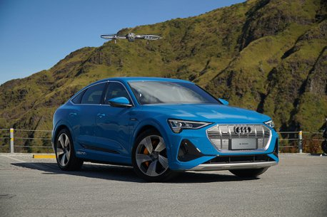 影/下山才是考驗!Audi e-tron 50 quattro不充電武嶺挑戰