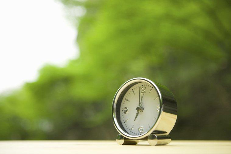 時間示意圖。圖/ingimage