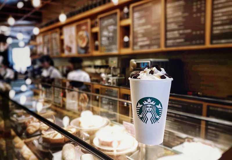 星巴克示意圖。圖/取自星巴克咖啡同好會(Starbucks Coffee)粉專