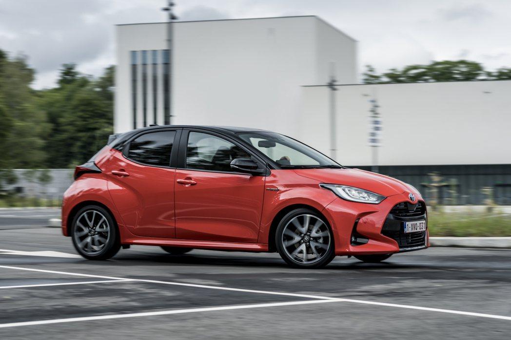 新世代Toyota Yaris成為2021歐洲年度風雲車最終評選七款新車中的唯一...