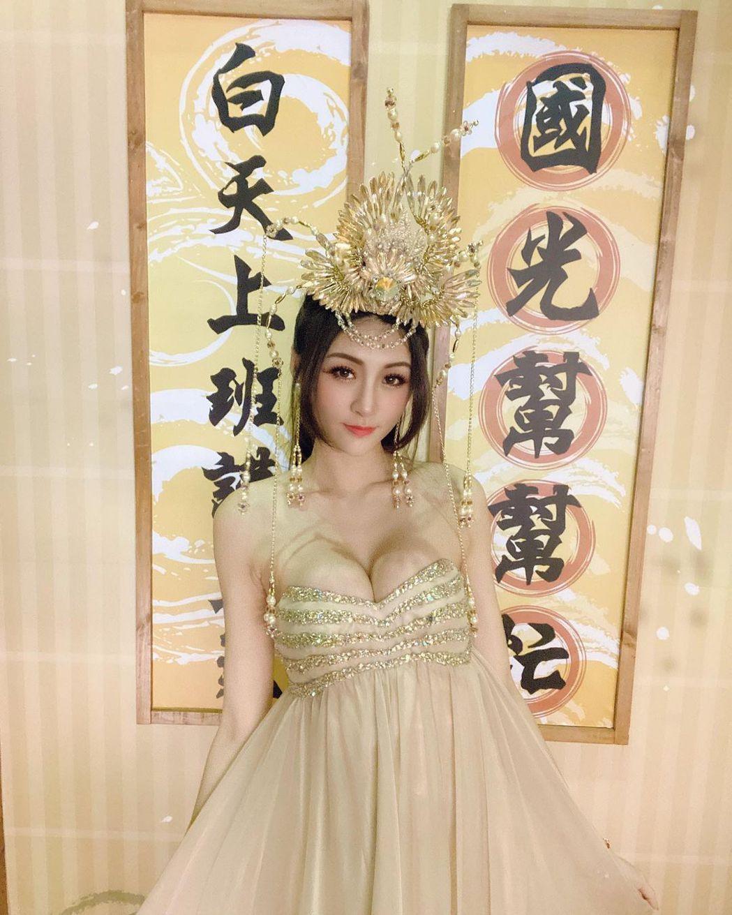 雪岑去年上「國光幫幫忙」。圖/擷自IG