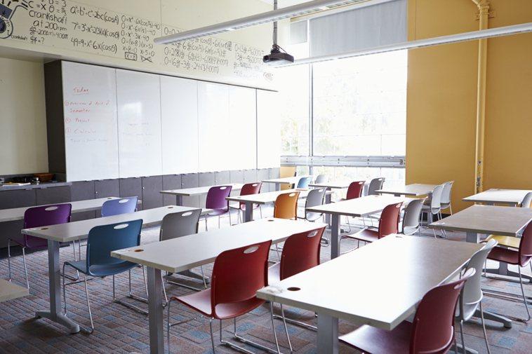 教室情境示意圖。圖/Ingimage