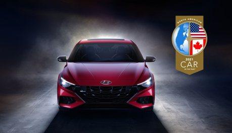 擊敗同門兄長與日系Sentra 第七代Hyundai Elantra摘下2021北美年度風雲車大獎!