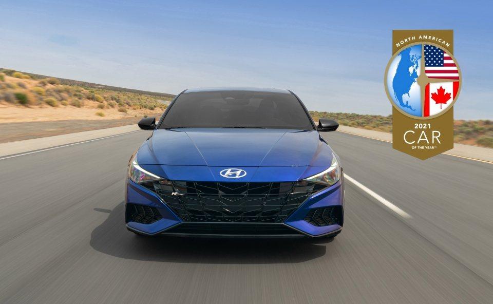 第七代Hyundai Elantra (CN7) 榮獲2021北美年度風雲車大獎...
