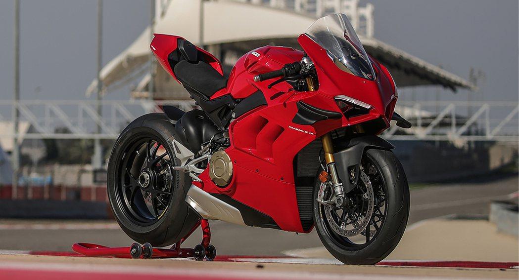 Ducati Panigale V4。 摘自Ducati