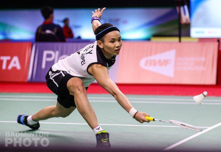 小戴花不到30分鐘就快速闖關,挺進8強。 圖/Badminton Photo提供
