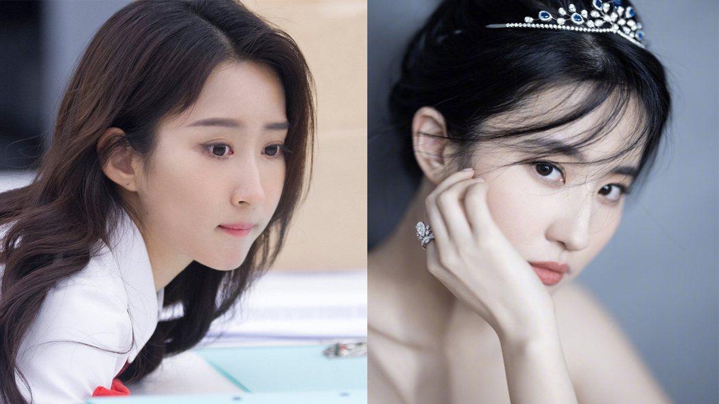 詹秋怡被認為撞臉女星劉亦菲。圖/擷自微博